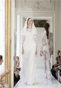 Unusual Wedding Lace Catsuit - Delphine Manivet